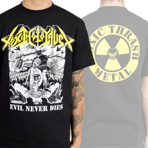 T-Shirt - Toxic Holocaust - Evil Never Dies
