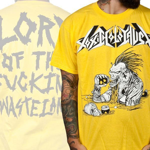 T-Shirt - Toxic Holocaust - Lord Of The Wasteland - Yellow