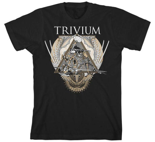 T-Shirt - Trivium - Triangular War-Metalomania