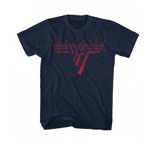 T-Shirt - Van Halen - Classic Red Logo-Metalomania