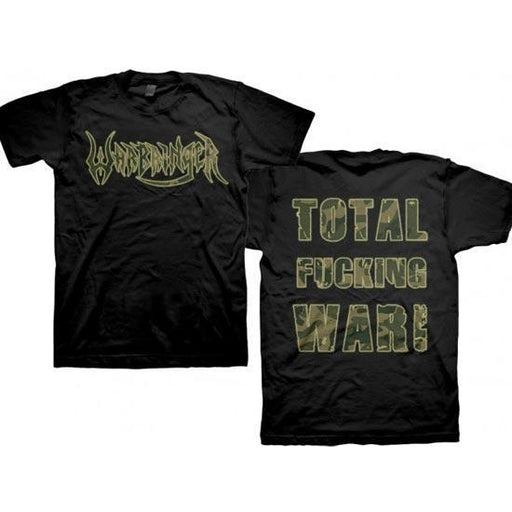T-Shirt - Warbringer - Total Fucking War-Metalomania