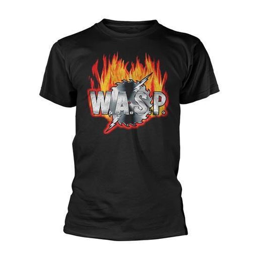 T-Shirt - WASP - Sawblade Logo-Metalomania