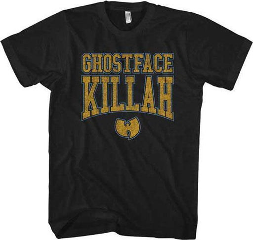 T-Shirt - Wu-Tang Clan - Ghostface Killah - Gold Logo