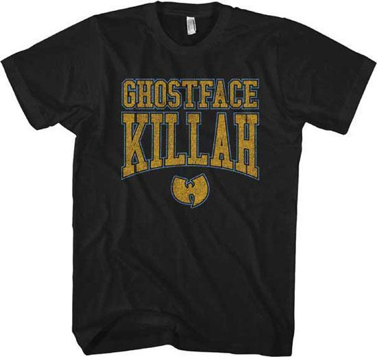 T-Shirt - Wu-Tang Clan - Ghostface Killah - Gold Logo-Metalomania