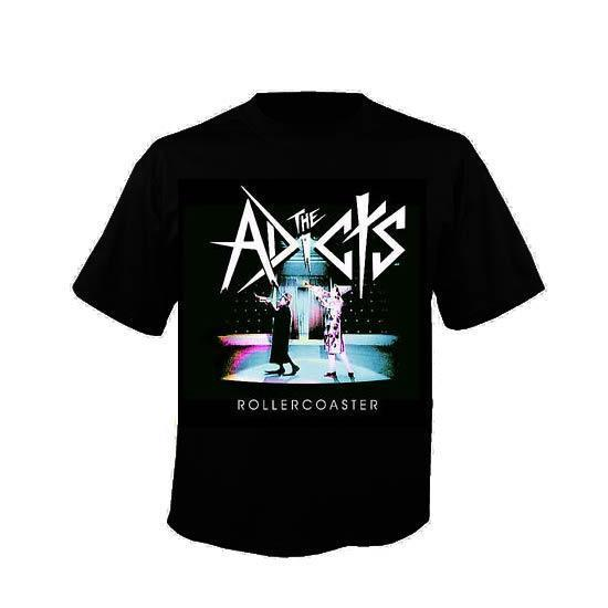 T-Shirt -The Adicts - Roller Coaster-Metalomania