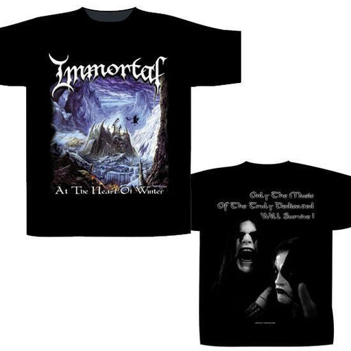 T-Shirts - Immortal - Heart of Winter-Metalomania