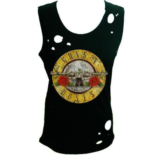 Tank Top - Guns N Roses - Fashion Style  Logo (lady)