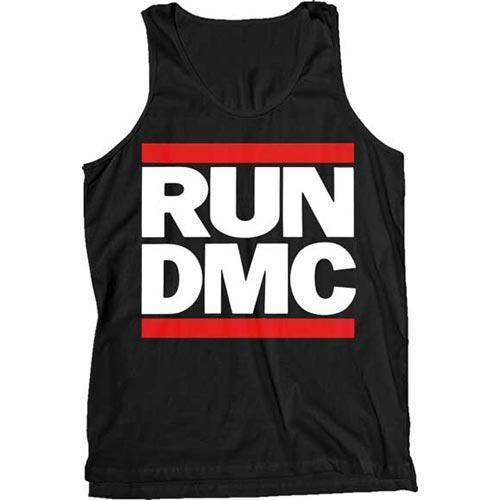 Tank Top - Run DMC - Classic Logo-Metalomania