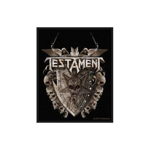 Testament Shield (Patches)-Metalomania