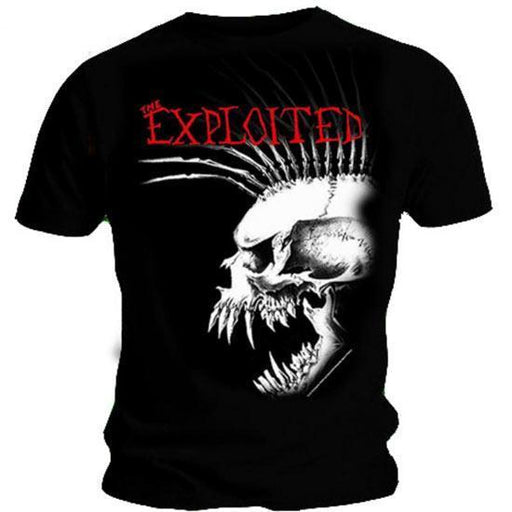 T-Shirt - The Exploited - Bastard Skull Punk-Metalomania