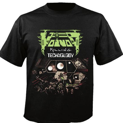T-Shirt - Voivod - Killing Technology-Metalomania