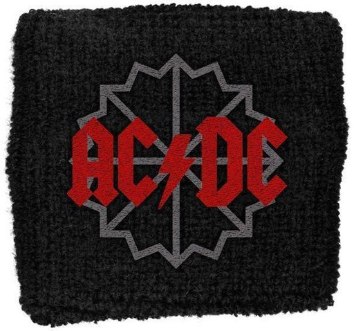 Wristband - ACDC - Black Ice Logo