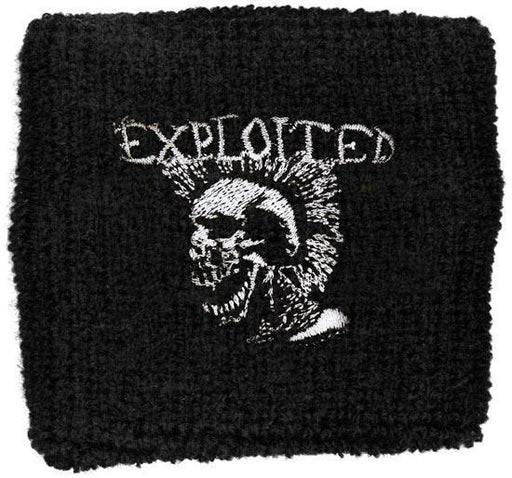 Wristband - The Exploited - Mohican Skull
