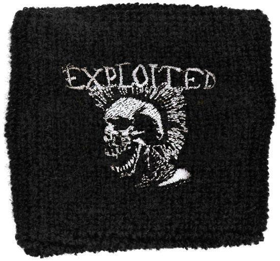 Wristband - The Exploited - Mohican Skull-Metalomania