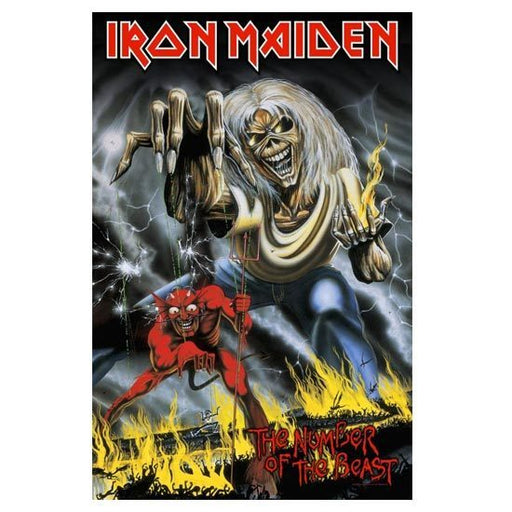 Deluxe Flag - Iron Maiden - Number of the Beast