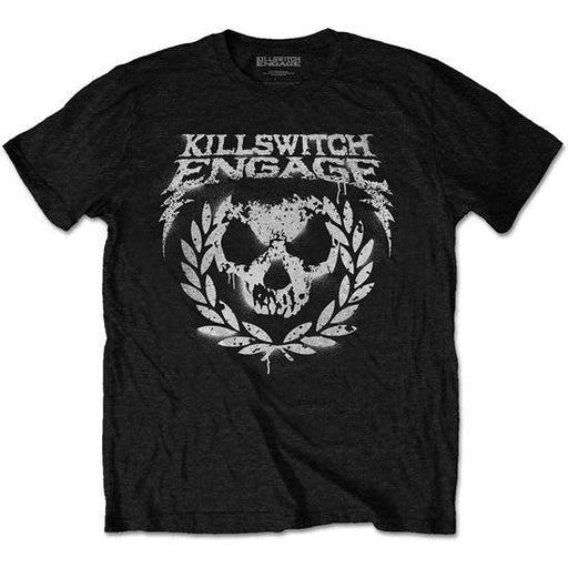T-Shirt - Killswitch Engage - Skull Spraypaint-Metalomania