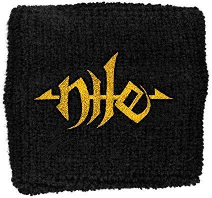 Wristband - Nile - Gold Logo-Metalomania