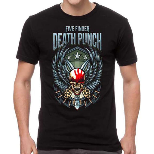 T-Shirt - Five Finger Death Punch - Wing Shield