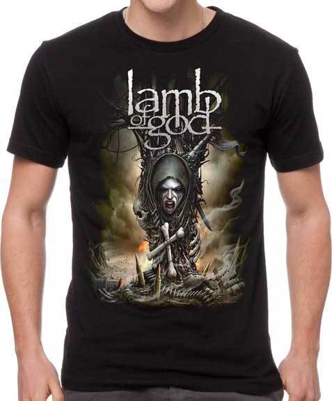 T-Shirt -  Lamb of God - Spirit Warrior