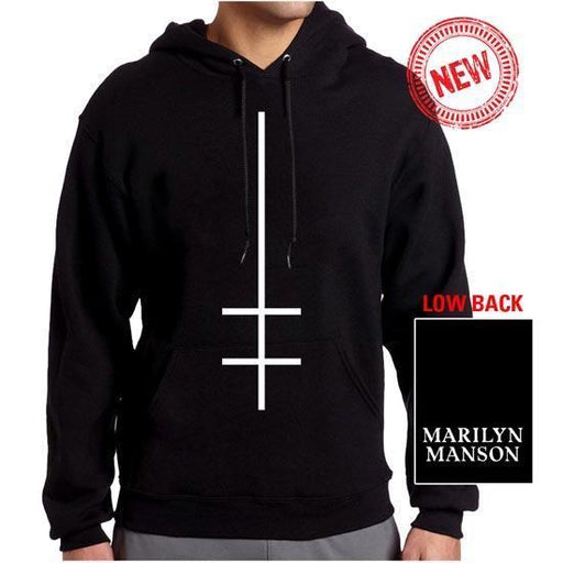 Hoodie - Marilyn Manson - Double Cross - Pullover