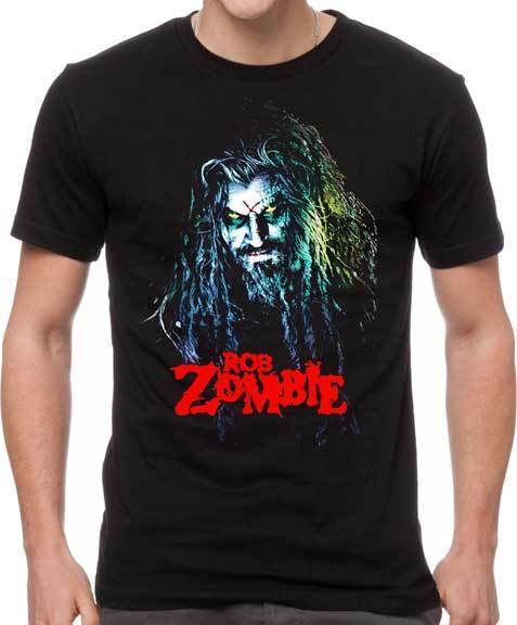 T-Shirt - Rob Zombie - Hell Billy Head-Metalomania