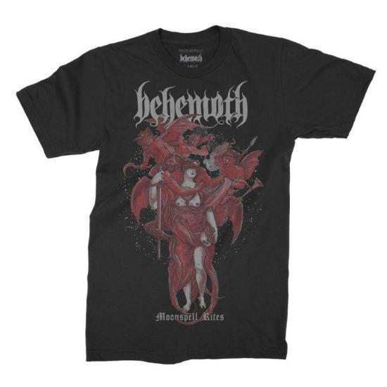 T-Shirt - Behemoth - Moonspell Rites-Metalomania