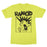 T-Shirt -  Rancid -  Screaming Mohawk - Yellow