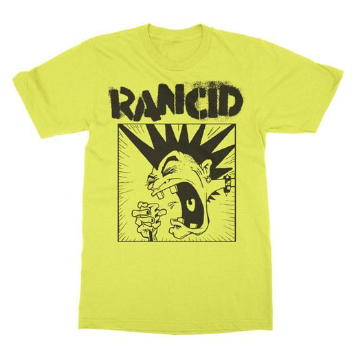 T-Shirt - Rancid - Screaming Mohawk - Yellow-Metalomania