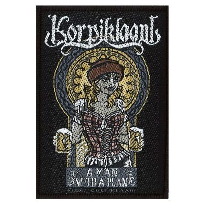 Patch - Korpiklaani - A Man With A Plan-Metalomania