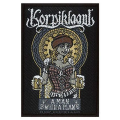 Patch - Korpiklaani - A Man With A Plan