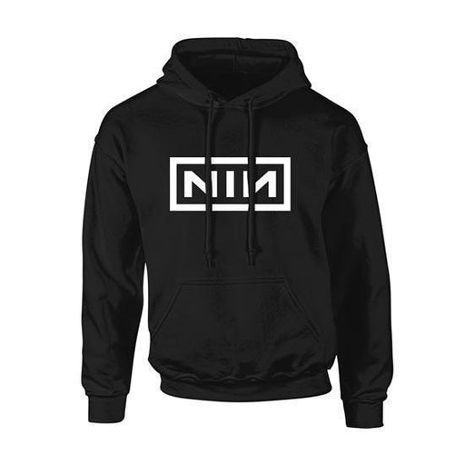 Hoodie - Nine Inch Nails - Classic White Logo - Pullover