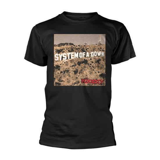 T-Shirt - System of a Down - Toxicity-Metalomania