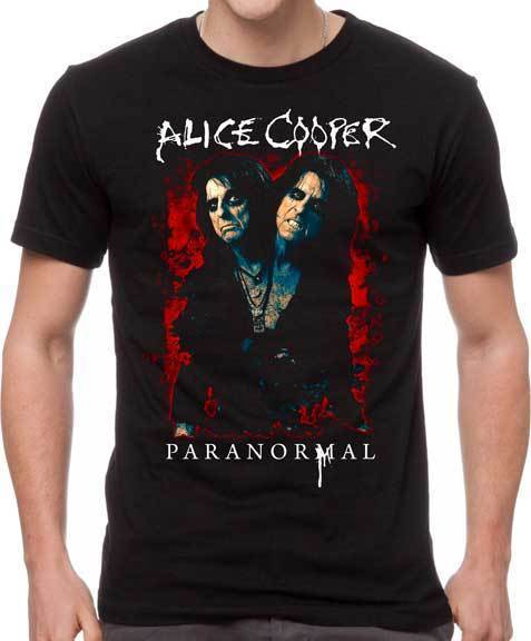 T-Shirt - Alice Cooper - Paranormal Splatter-Metalomania