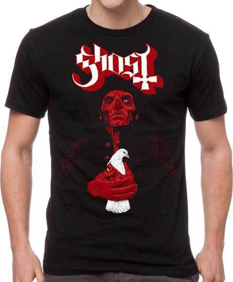 T-Shirt - Ghost - Dove-Metalomania
