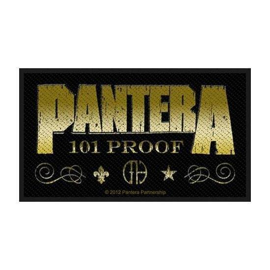 Patch - Pantera - whiskey label-Metalomania