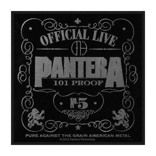Patch - Pantera - 101 Proof