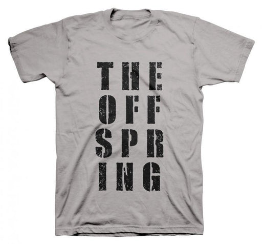 T-Shirt - The Offspring - Block Letters-Metalomania