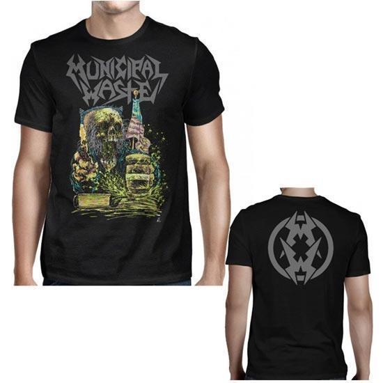 T-Shirt - Municipal Waste - Judgement MW-Metalomania
