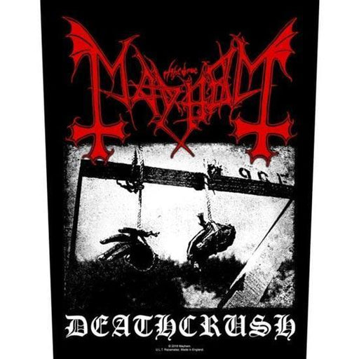 Back Patches - Mayhem - Deathcrush-Metalomania