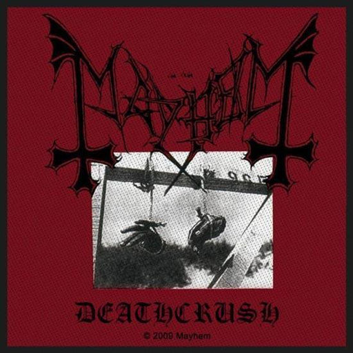 Patch - Mayhem - Deathcrush-Metalomania