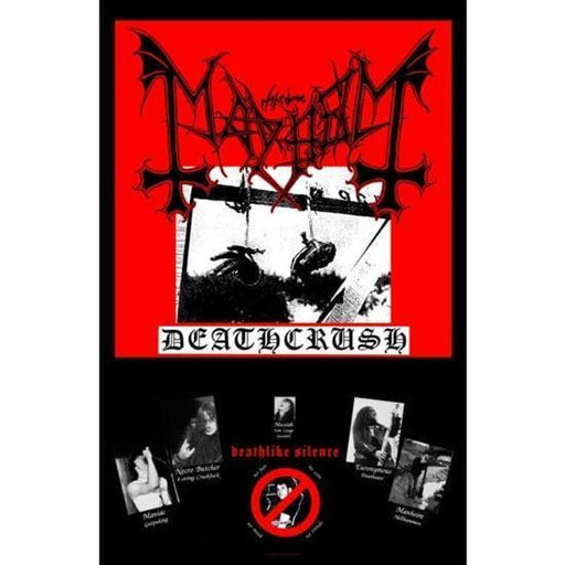 Deluxe Flag - Mayhem - Deathcrush-Metalomania