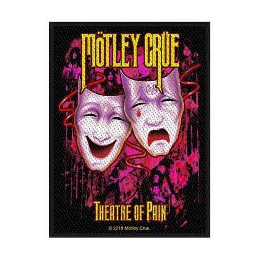 Patch - Motley Crue - Theatre of Pain-Metalomania
