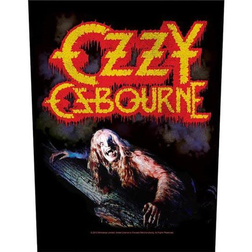 Back Patch - Ozzy Osbourne - Bark at the Moon