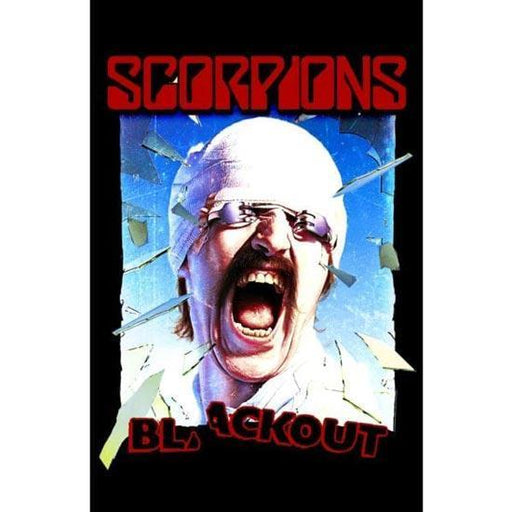 Deluxe Flag - Scorpions - Blackout