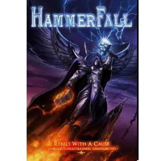 Flag - Hammerfall - Rebels With A Cause-Metalomania
