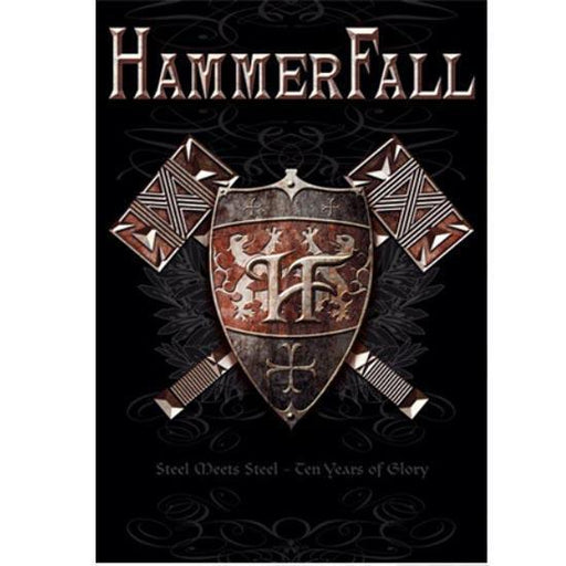 Flag - Hammerfall - Steel Meets Steel-Metalomania