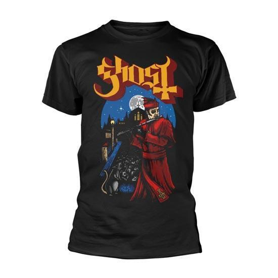 T-Shirt - Ghost - Advancing Pied Piper-Metalomania