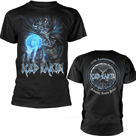 T-Shirt - Iced Earth - 30th Anniversary-Metalomania