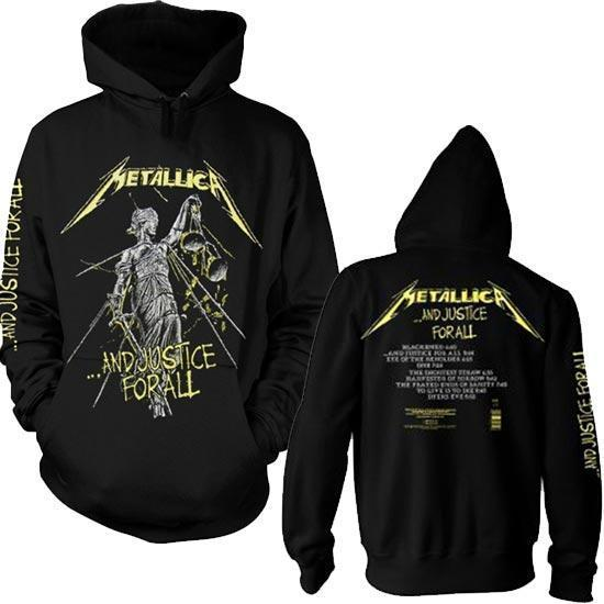 Hoodie - Metallica - Justice for All - Tracks - Pullover-Metalomania