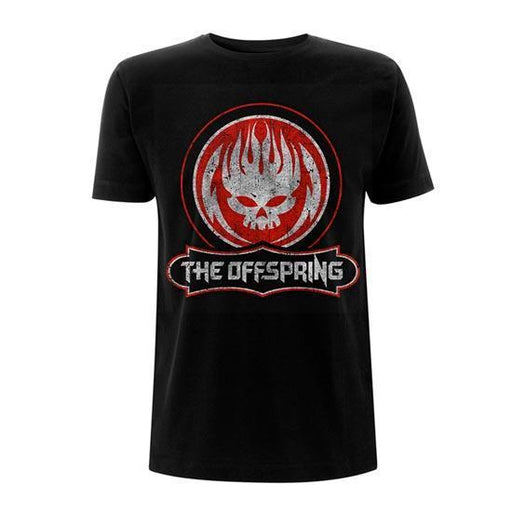 T-Shirt - The Offspring - Distressed Logo-Metalomania